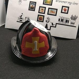 Fine porcelain tiny 🔥 fire hat